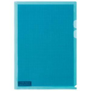 その他 (業務用5セット) プラス カモフラージュホルダー A4 薄青 100冊 ds-1743801