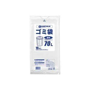 その他 (業務用100セット) ジョインテックス ゴミ袋 LDD 透明 70L 10枚 N208J-70 ds-1743984