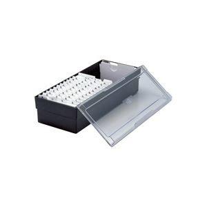 その他 (業務用30セット) セキセイ ネームカードボックス CB-700 ブラック ds-1744077