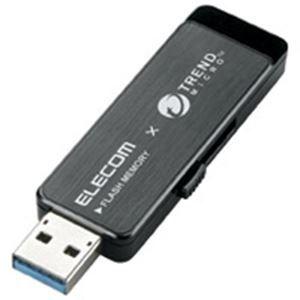 その他 (業務用3セット) エレコム(ELECOM) セキュリティUSBメモリ黒16GB MF-TRU316GBK ds-1744174