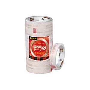 その他 (業務用30セット) スリーエム 3M 超透明テープS BK-18N 工業用包装10巻 ds-1744248