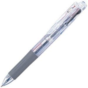 その他 (業務用100セット) ZEBRA ゼブラ 多色ボールペン サラサ3 【0.5mm】 ゲルインク J3J2-C 軸色透明 ds-1744491