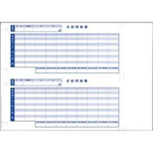 その他 (業務用2セット) オービックビジネスコンサルタント 奉行シリーズ用専用 単票給与明細書 6101 ds-1744503