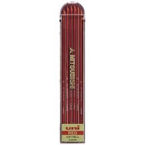 その他 (業務用100セット) 三菱鉛筆 ユニホルダー用替芯 ULN.15 赤 6本 ds-1745185