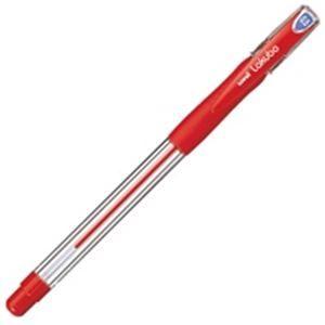 その他 (業務用300セット) 三菱鉛筆 ボールペン VERY楽ボ SG10005.15 赤 ds-1745622