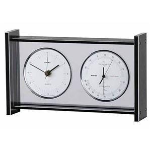 その他 EMPEX スーパーEX ギャラリー温度・湿度・時計 EX-792 シルバー ds-1762585