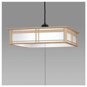 その他 日立 LED和風木枠ペンダントライト~8畳 LEP-CA801EJ ds-1764260
