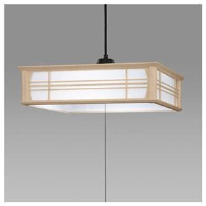 その他 日立 LED和風木枠ペンダントライト~12畳 LEP-CA1200EJ ds-1764261