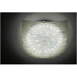 その他 シーリングライト(照明器具) リモコン付き 調光調温 リモコン三段調節 金属/ガラス製 〔リビング照明/ダイニング照明〕【電球不要】 ds-1808170