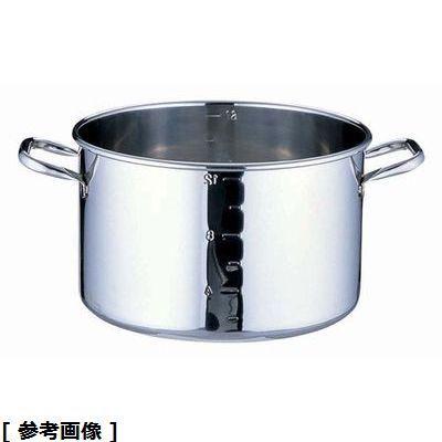 高い素材 メーカー直送 TKG Total Kitchen Goods SAパワー 39cm デンジ半寸胴鍋目盛付蓋無 AHV8939