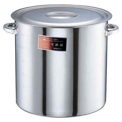TKG (Total Kitchen Goods) SAモリブデン寸胴鍋((目盛付・手付)48cm) AZV10048