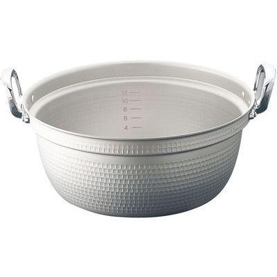 TKG (Total Kitchen Goods) エコクリーンマイスターアルミ極厚円付鍋(33cm) AEK0904