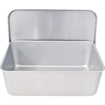 TKG (Total Kitchen Goods) アルマイト重なるパン箱(蓋付) APV4901
