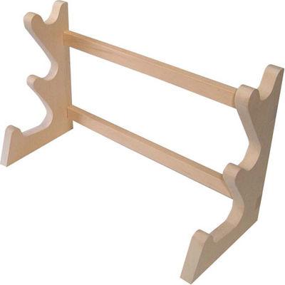 その他 木製卓上麺棒掛3段 AMV2601
