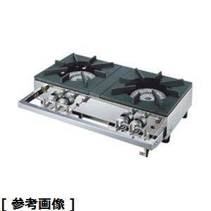 山岡金属 ガステーブルコンロ用兼用レンジ(S-2220 LPガス) DKV2701