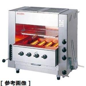 アサヒサンレッド ガス赤外線同時両面焼グリラーニュー武蔵 SGR-N65(中型)13A DGL992