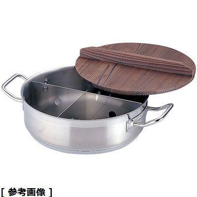 TKG (Total Kitchen Goods) 21-0TKGプロ電磁用丸型おでん鍋((木蓋付) 大) EOD291
