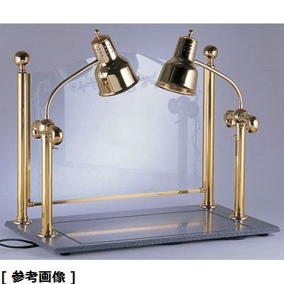 その他 ヒートランプウォーマー2灯タイプ (カービングディスプレー付) NLV1501