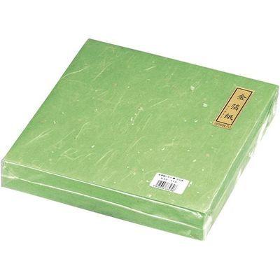 その他 金箔紙ラミネート緑(500枚入) QKV5805