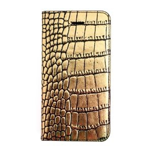 その他 GAZE iPhone SE Gold Croco Diary ds-1823240