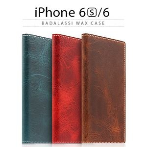 その他 SLG Design iPhone6/6S Badalassi Wax case レッド ds-1823697