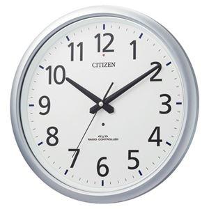 その他 リズム時計 シチズン電波掛時計 8MY493-019 ds-1826617