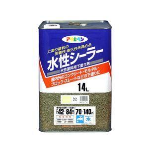 その他 アサヒペン AP 水性シーラー 14L ライトレモン ds-1828662