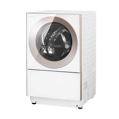 パナソニック 左開き ななめドラム 全自動洗濯機 (容量10kg/乾燥3kg) (ピンクゴールド) (NAVG1200LP) NA-VG1200L-P【納期目安:2週間】