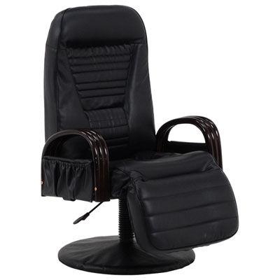 HAGIHARA(ハギハラ) 回転座椅子(ブラック) LZ-4129BK 2101157100