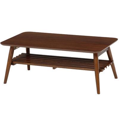 HAGIHARA(ハギハラ) 折れ脚テーブル(ブラウン) MT-6921BR 2101364800