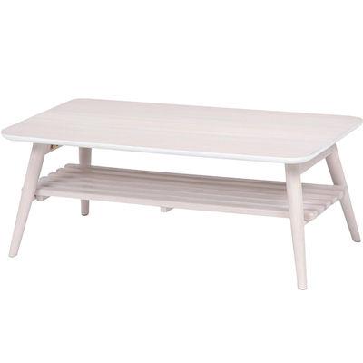 HAGIHARA(ハギハラ) 折れ脚テーブル(ホワイトウォッシュ) MT-6921WS 2101364900