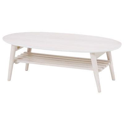 HAGIHARA(ハギハラ) 折れ脚テーブル(ホワイトウォッシュ) MT-6922WS 2101365100