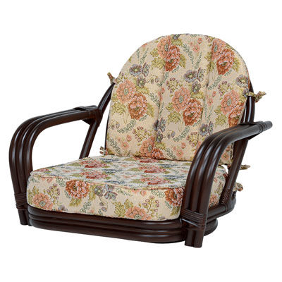 HAGIHARA(ハギハラ) 回転座椅子(ダークブラウン) RZ-931DBR 2101692700