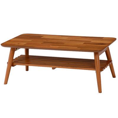 HAGIHARA(ハギハラ) 折れ脚テーブル(アカシア) MT-6921AC 2090836600