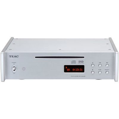 ティアック DSD再生対応CDプレーヤー PD-501HR-SE-S【納期目安:1週間】
