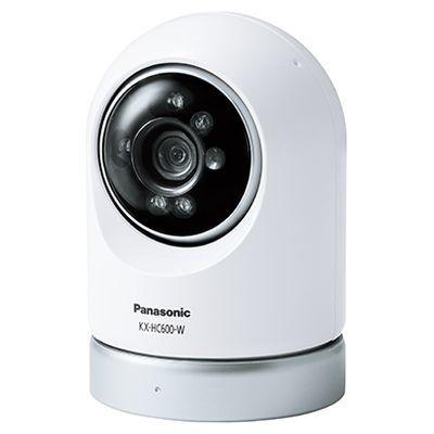 パナソニック 屋内スイングカメラ KX-HC600-W【納期目安:約10営業日】