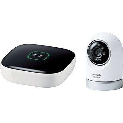 パナソニック 屋内スイングカメラキット KX-HC600K-W【納期目安:約10営業日】