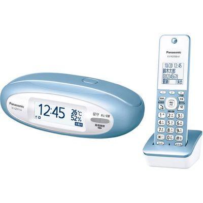 パナソニック デジタルコードレス電話機 子機1台付き (メタリックブルー) VE-GZX11DL-A【納期目安:1ヶ月】