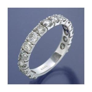その他 K18WG ダイヤリング 指輪 2ctエタニティリング 20号 ds-1838993