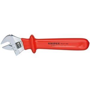 その他 KNIPEX(クニペックス)9807-250 絶縁モンキーレンチ 250MM ds-1849512