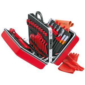 その他 KNIPEX(クニペックス)989914 絶縁工具セット ds-1849607