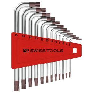 その他 PB SWISS TOOLS 410H/6-45 L型ヘクスローブレンチセット(パックなし) ds-1851669