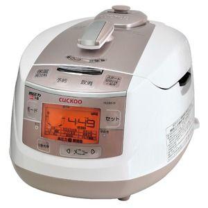 その他 CUCKOO New圧力名人 超高圧発芽酵素玄米炊飯器 玄米と水をセットするだけ 自動発芽させてふっくら美味しく炊き上げる! ds-1840760