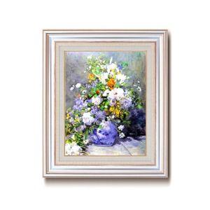 その他 名画額縁/フレームセット 【F6AS】 ルノワール 「花瓶の花」 477×571×59mm 壁掛けひも付き ds-1862763