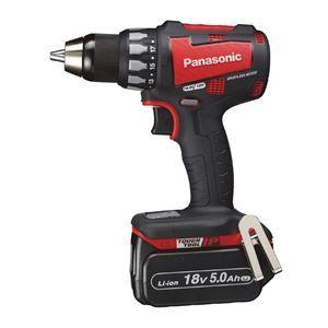 その他 Panasonic(パナソニック) EZ74A2LJ2G-R 18V5.0Ah充電ドリルドライバー(赤) ds-1875406