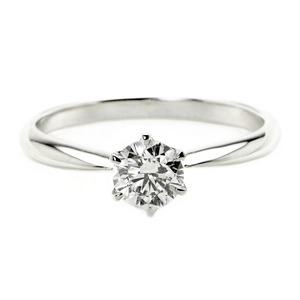 その他 ダイヤモンド ブライダル リング プラチナ Pt900 0.4ct ダイヤ指輪 Dカラー SI2 Excellent EXハート&キューピット エクセレント 鑑定書付き 16.5号 ds-1897097