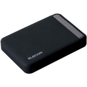 その他 エレコム USB3.0 ポータブルハードディスク/ハードウェア暗号化/パスワード保護/1TB/e:DISKSafe Portable ELP-EEN010UBK ds-1890171