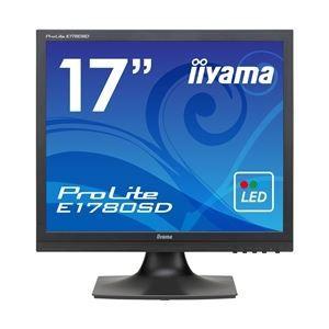 その他 iiyama 17型液晶ディスプレイ ProLite E1780SD マーベルブラック E1780SD-B1 ds-1891543