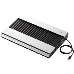 その他 エレコム ノートPC用クーラー/置き台/アルミ/大型ファン×2/ブーストモード搭載/15.4~17インチ対応/USB3.0ハブ×4ポート/ブラック SX-CL24LBK ds-1892101