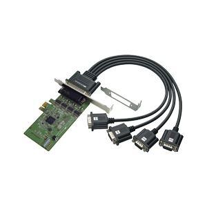 その他 ラトックシステム 4ポート RS-232C・デジタルI/O PCI Expressボード REX-PE64D ds-1896860